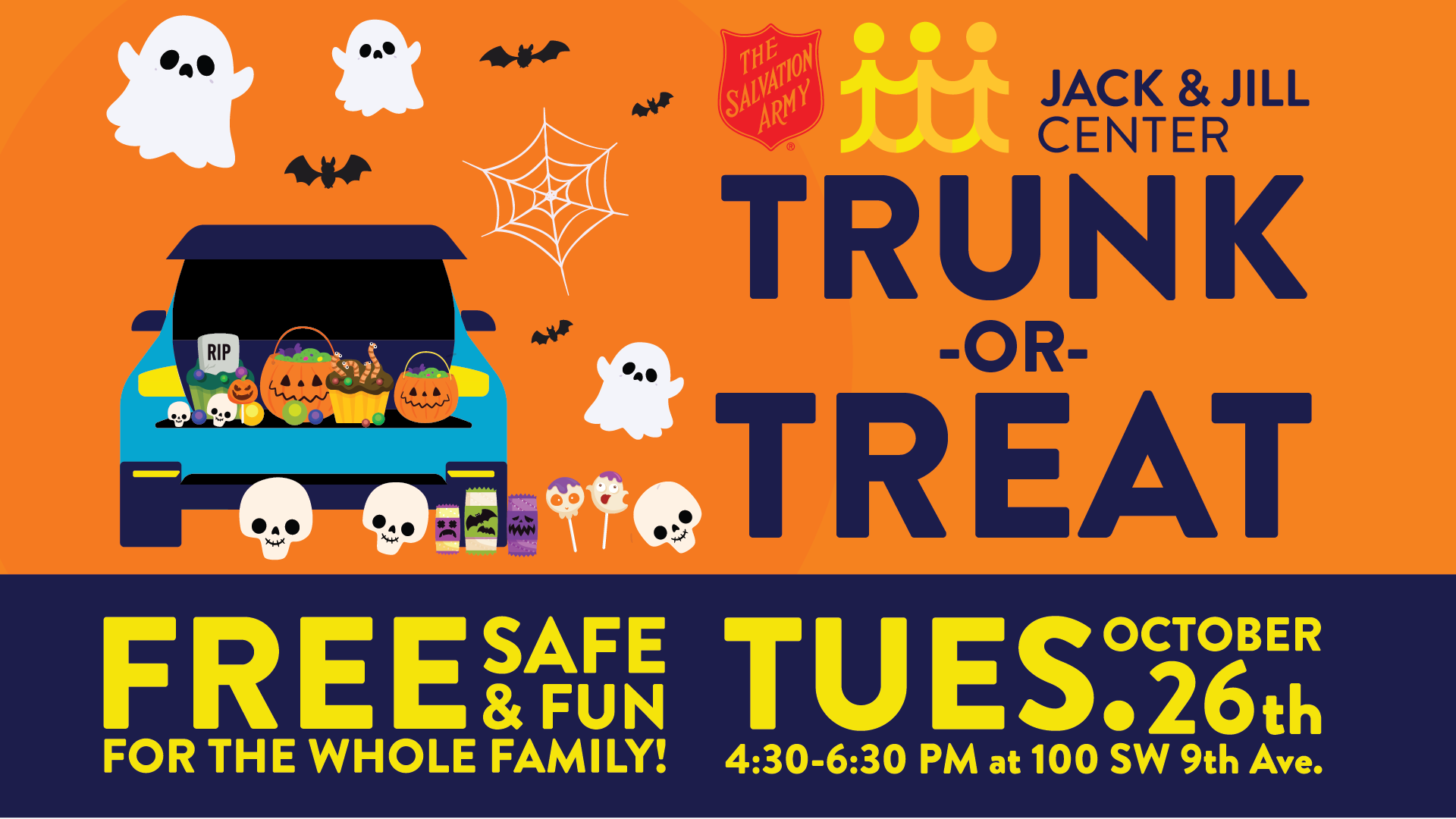 Trunk-or-Treat @ Salvation Army | Fort Lauderdale | Florida | United States