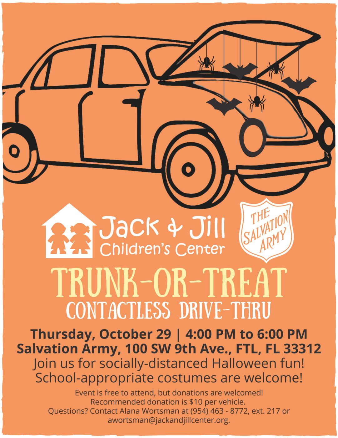 Trunk-or-Treat @ Salvation Army/Madelaine Halmos Academy | Fort Lauderdale | Florida | United States