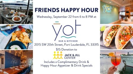 Friends Happy Hour @ YOT Bar & Kitchen | Fort Lauderdale | Florida | United States