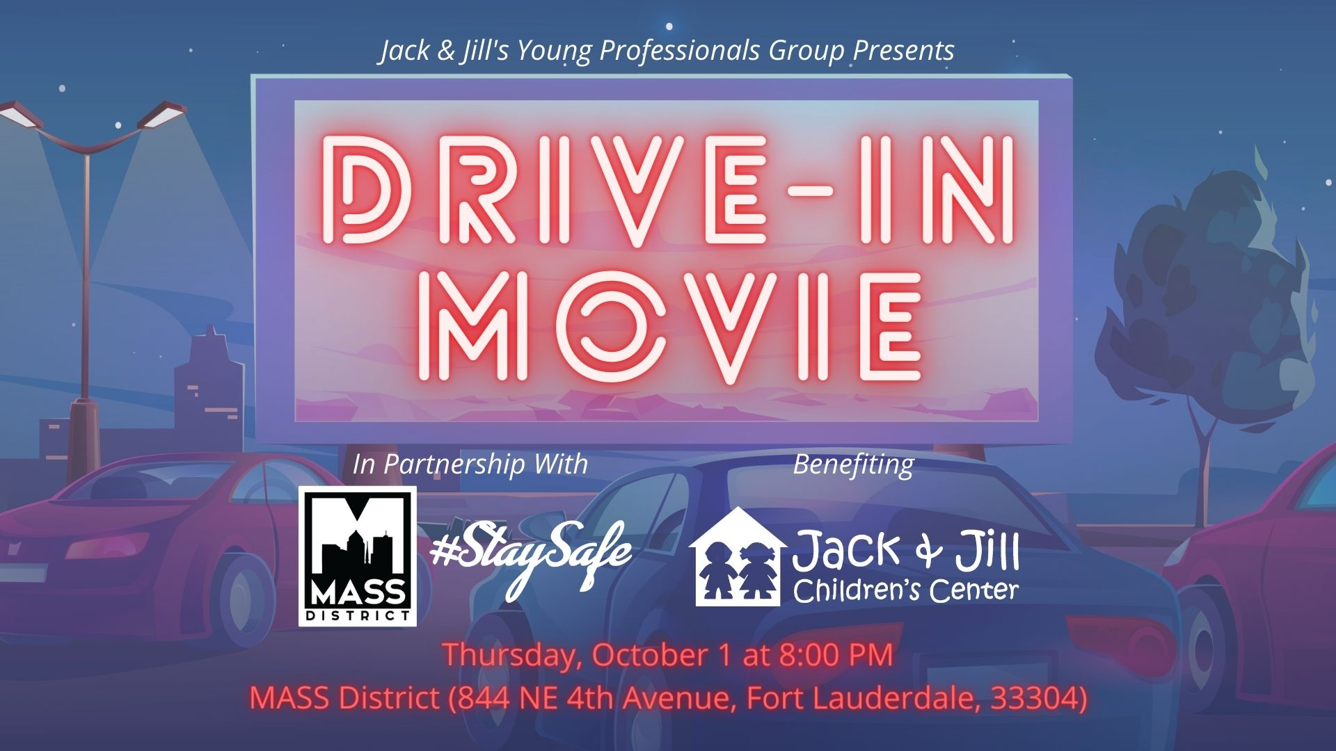 Drive-In Movie @ MASS District | Fort Lauderdale | Florida | United States